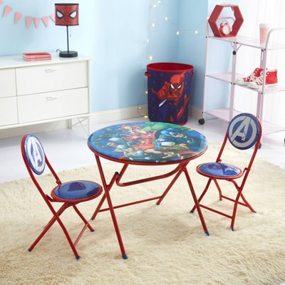 3pc Avengers Round Table and Chair Set