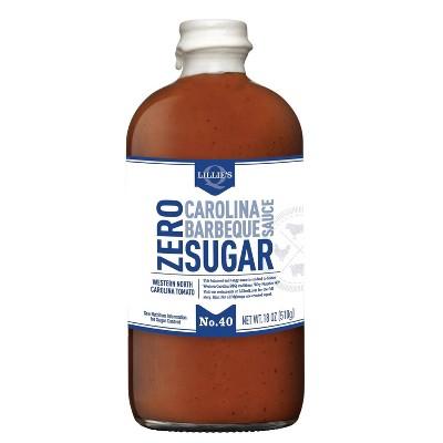 Lillie's Q Zero Sugar Carolina BBQ Sauce - 18oz