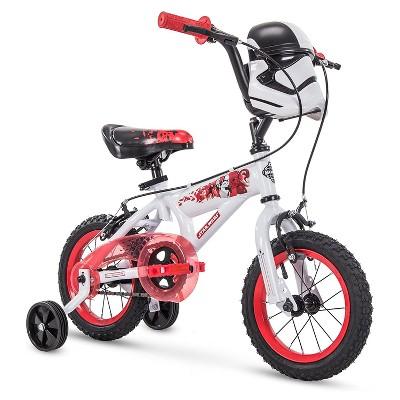 Huffy 72198 Star Wars Stormtrooper 12 Inch Toddler Boys Bike with Training Wheels, White