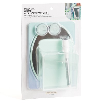 U Brands 5pc Magnetic Locker Kit - Ombre Blue/Purple