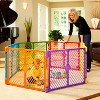 Toddleroo By North States Superyard Colorplay 6 Panel Freestanding Gate - image 3 of 4