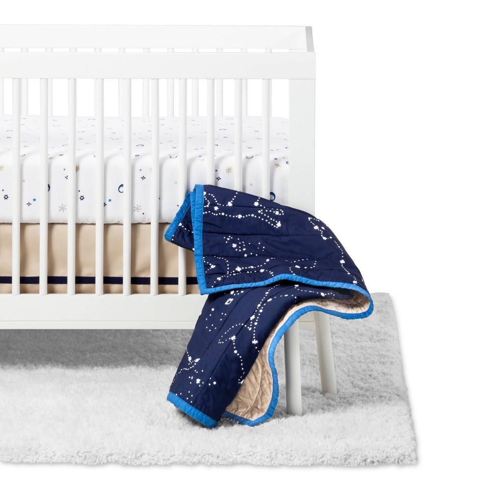 Image of Crib Bedding Set Starry Slumber 4pc - Cloud Island Stars
