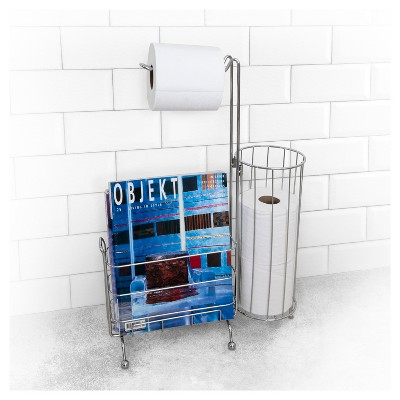 Fixed Toilet Tissue Holder Chrome - Splash Home