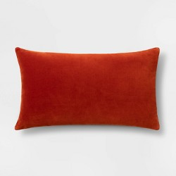 Solid Velvet Pillow - Threshold™