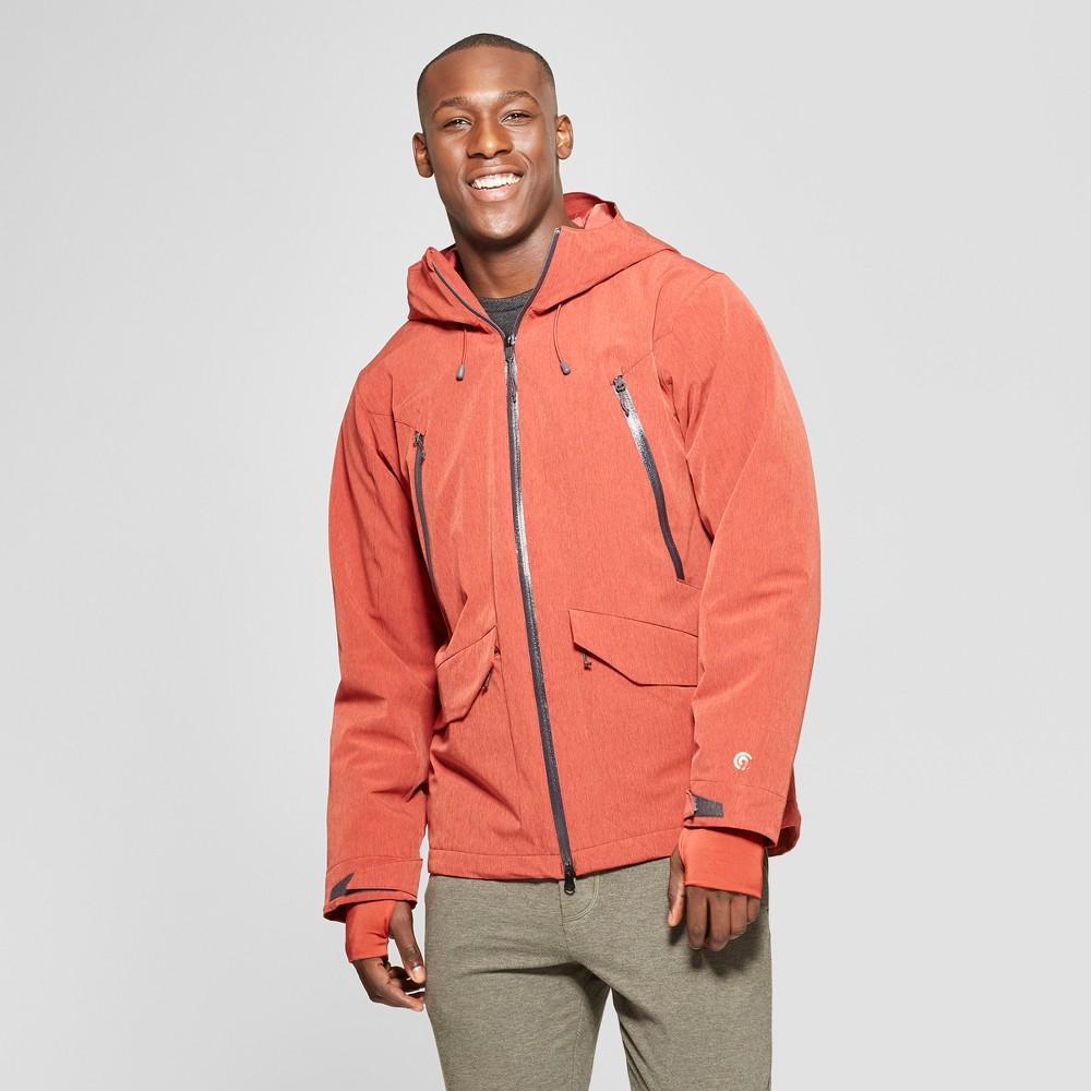Men's Ski Puffer Jacket - C9 Champion Autumn Clay Red S