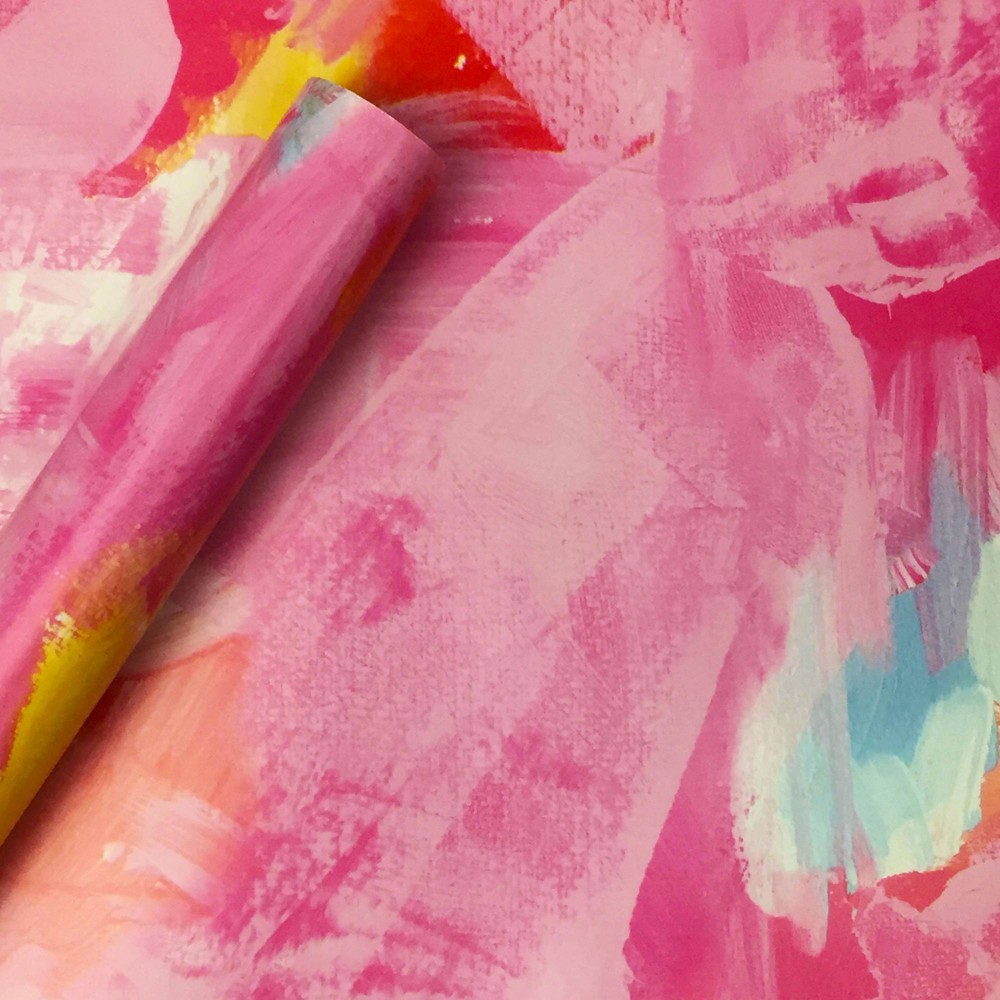 Image of Brushstrokes Roll Wrap - Spritz