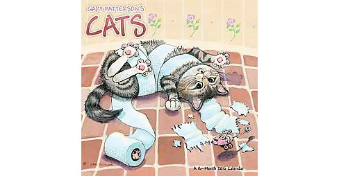 Gary Patterson's Cats 2016 Calendar (Paperback) - image 1 of 1