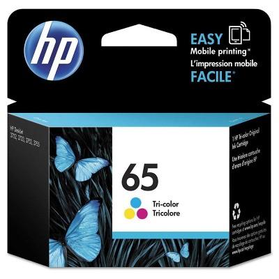HP 65 Single Ink Cartridge - Tri-color (N9K01AN#140)