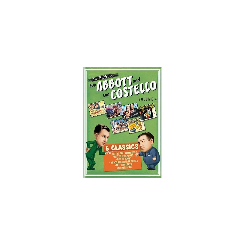 Best Of Bud Abbott And Lou Costell V4 (Dvd)
