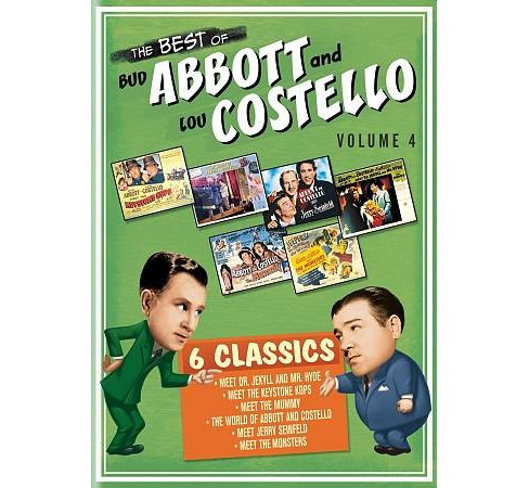 Best Of Bud Abbott And Lou Costell V4 (DVD) - image 1 of 1