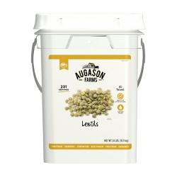 Augason Farms Lentil Beans Emergency Bulk Food Storage 4-Gallon Pail 231 Servings