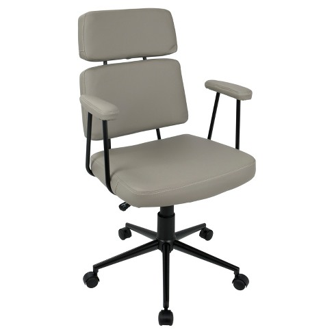 Sigmund Contemporary Adjustable Office Chair - Lumisource - image 1 of 4