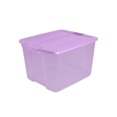 Sterilite 66qt Latching Storage Box with Lid Box