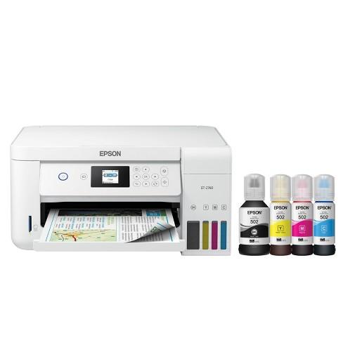 Epson EcoTank Wireless SuperTank Printer (ET-2760) - image 1 of 4