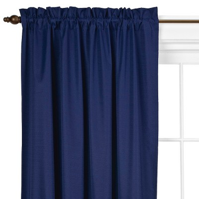 63 x42  Braxton Thermaback Blackout Curtain Panel Blue - Eclipse™