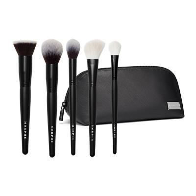 Morphe Face The Beat Face Brush Collection + Bag - 6pc - Ulta Beauty