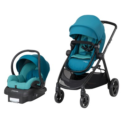 Maxi-Cosi Zelia 4-in-1 Modular Travel System - Emerald Tide