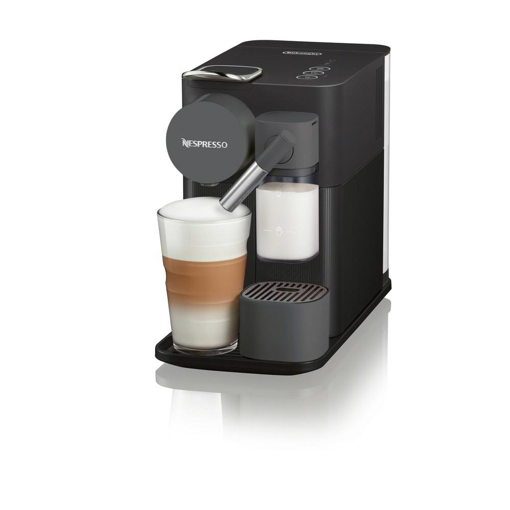 Image of Nespresso Lattissima One Coffee and Espresso Machine by De'Longhi Black