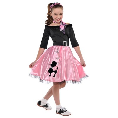 Kids' Miss Sock Hop Halloween Costume
