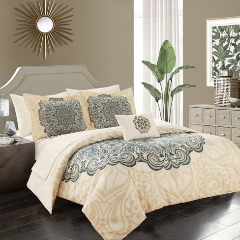 Amina Bed In A Bag Comforter Set Target, Queen Size Bedding In A Bag