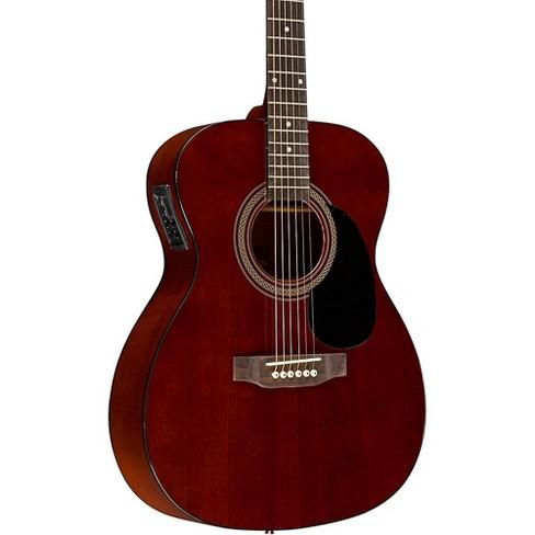 Rogue RA-090 Concert Acoustic-Electric Guitar, Mahogany Natural - image 1 of 4