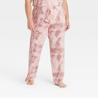 Women's Tie-Dye Beautifully Soft Pajama Pants - Stars Above™ Pink