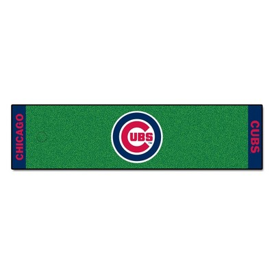 MLB Chicago Cubs 1.5'x6' Putting Mat - Green