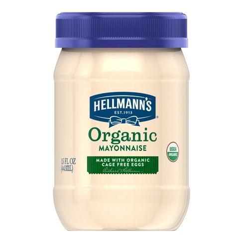 Hellmann's Organic Mayonnaise - 15oz - image 1 of 4