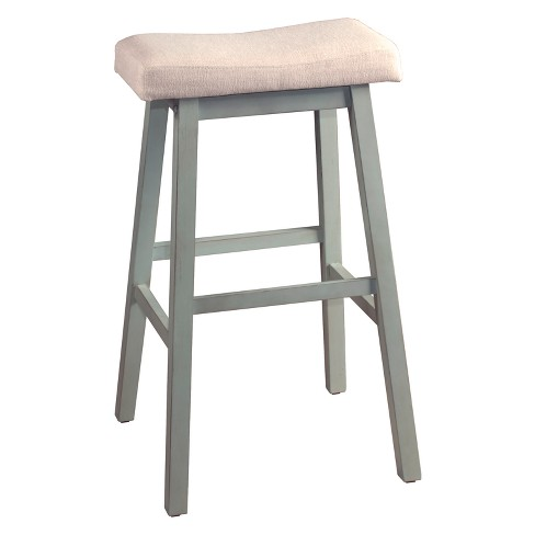32 Saddle Backless Nonswivel Counter Stool Rustic Target