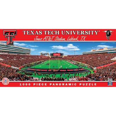 NCAA Texas Tech Red Raiders Pano Puzzle 1000pc
