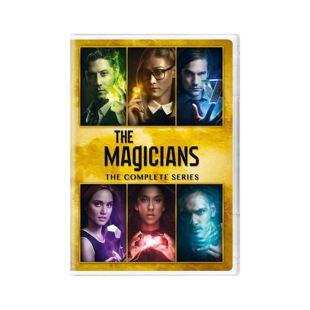 The Magicians The Complete Series Dvd 2020
