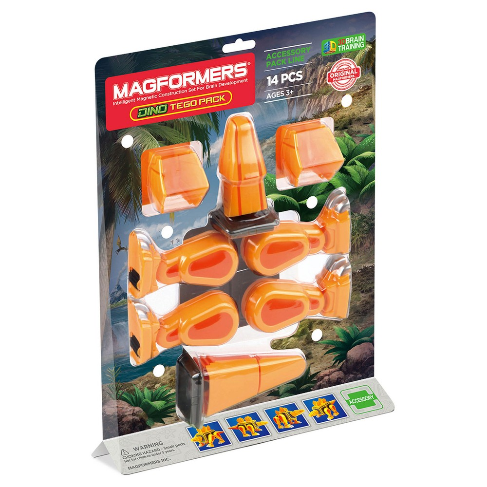 Magformers Tego Accessory Pack - 14pc