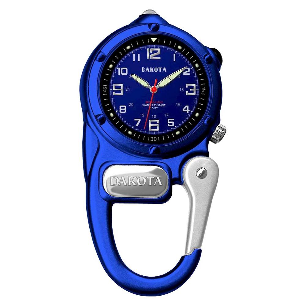 Image of Men's Dakota Mini Clip Microlight Watch - Blue, Size: Small