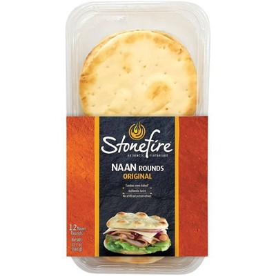 Stonefire Naan Rounds - 12ct/12.7oz