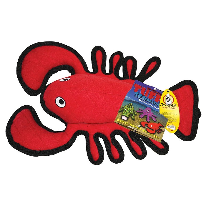 Tuffy Ocean Creature Lobster Pet Toy - Red - image 1 of 3