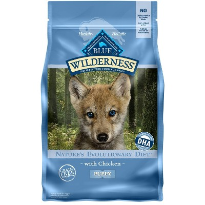 Blue Buffalo Wilderness Grain Free with Chicken Puppy Dry Dog Food