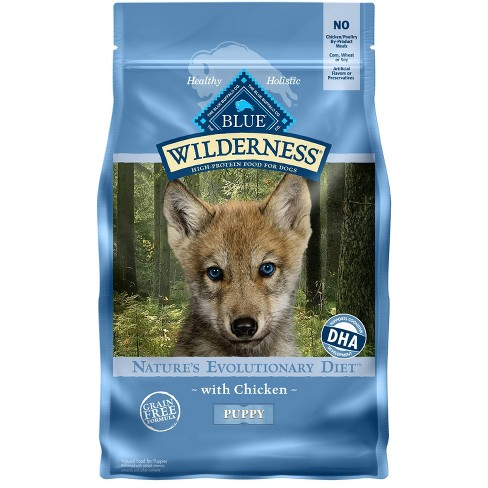 Blue Buffalo Wilderness Grain Free with Chicken Puppy Dry Dog Food - image 1 of 4