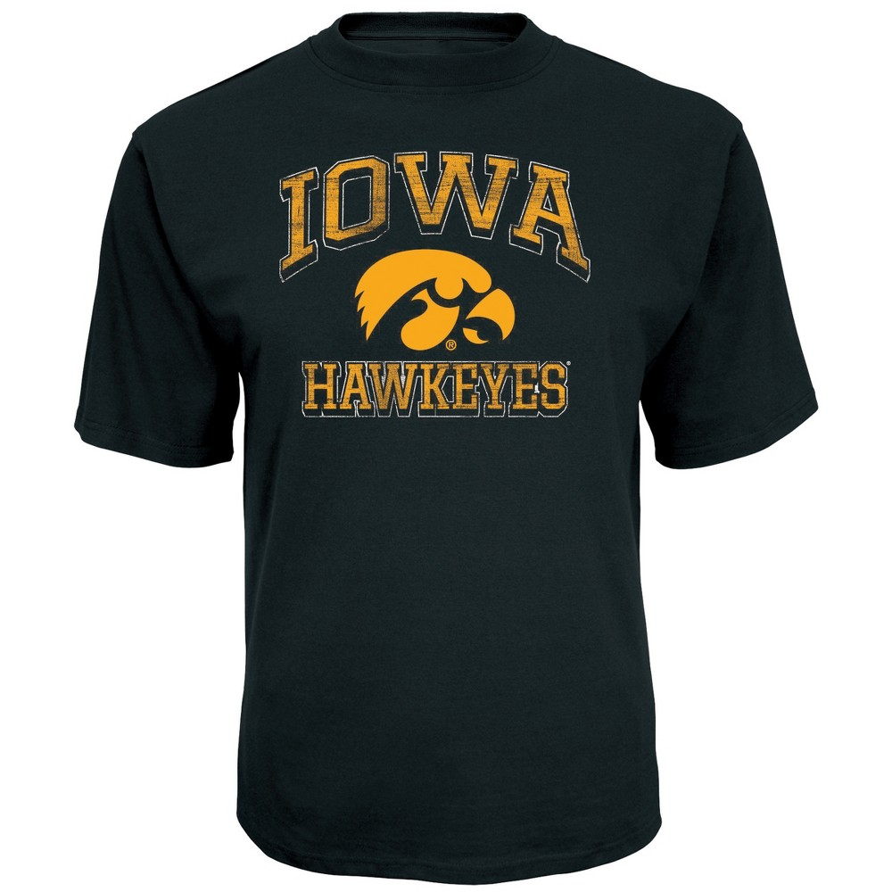 NCAA Men's Short Sleeve TC T-Shirt Iowa Hawkeyes - XL, Multicolored