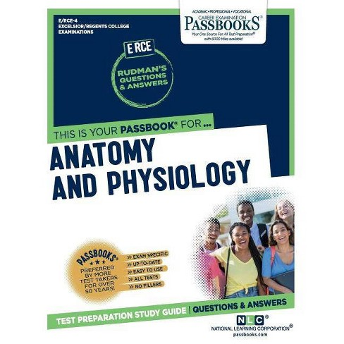 Anatomy and Physiology - by National Learning Corporation (Paperback)