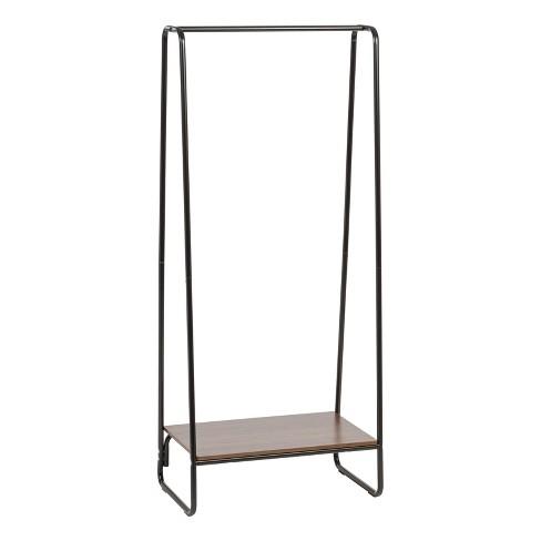 IRIS Garment Rack with Wood Shelf - image 1 of 4