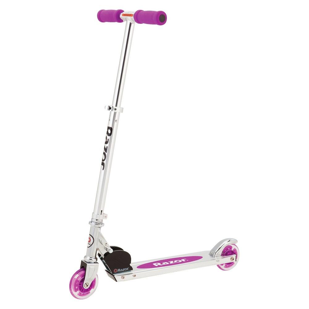 Razor Lighted Wheel Scooter -Neon Purple, Neon Purple