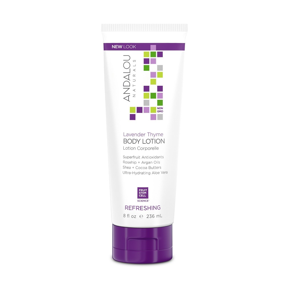 Image of Andalou Naturals Lavender Thyme Refreshing Body Lotion - 8 Oz
