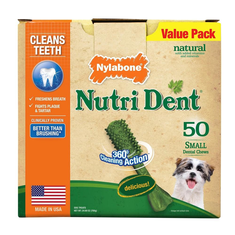 Nylabone Nutri Dent Original Small Dog Treats - 50ct.
