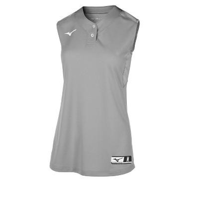 Mizuno Aerolite 2-Button Sleeveless Softball Jersey