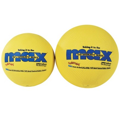 SportimeMax Utility Soccer Ball, 10 Inches, Yellow