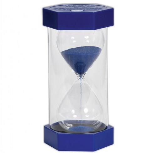 tickit mega 5 minute sand timer blue target