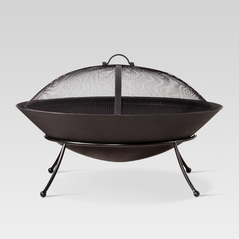 Jackson 26 Cast Iron Wood Burning Firebowl - Round - Threshold