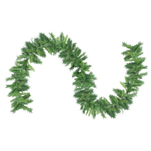 """Northlight 9' x 10"""" Unlit Mixed 2-Tone Pine Artificial Christmas Garland - image 1 of 2"""