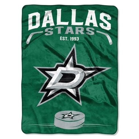 NHL Dallas Stars Inspired Raschel Throw - image 1 of 3