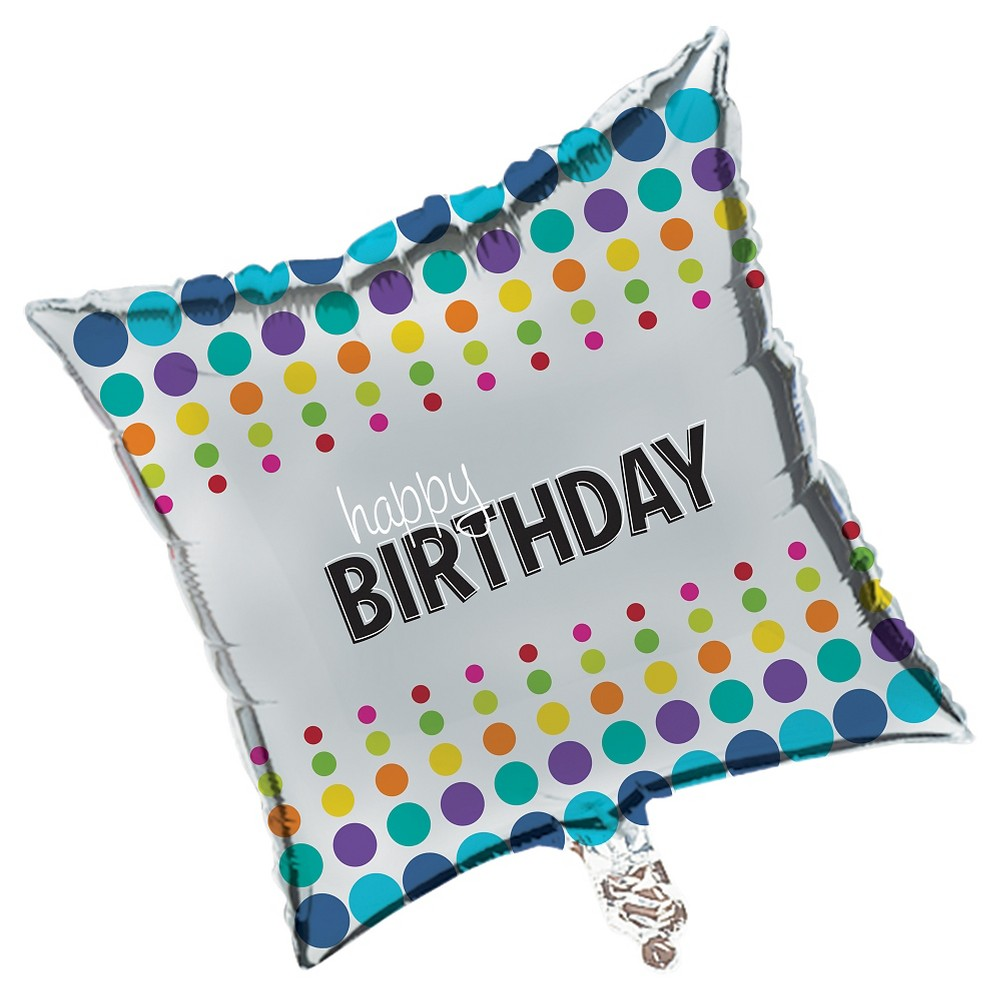 Birthday Pop Mylar Balloon
